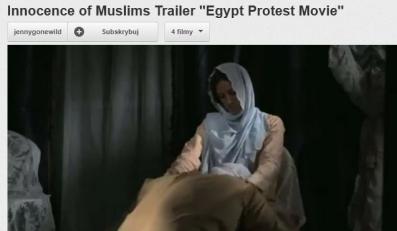 "Screen z filmu ""Innocence of Muslim"""