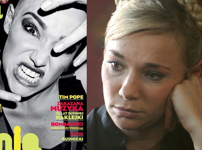 Sonia Bohosiewicz: po lewej w \