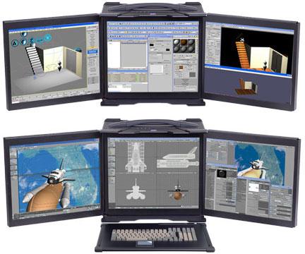 Komputer dla gracza w poręcznej skrzyneczce