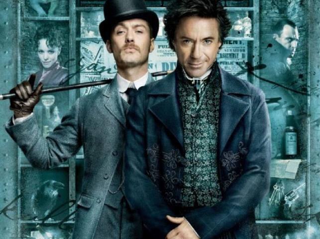 "Plakat filmu ""Sherlock Holmes"" Guya Ritchiego"