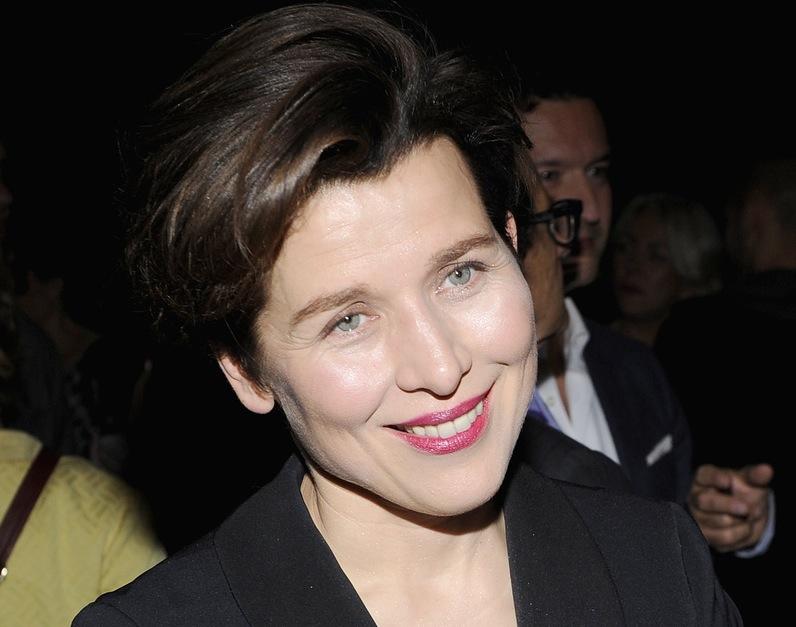 Katarzyna Herman na premierze \