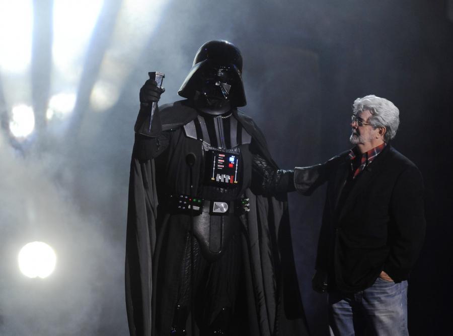 Lord Vader i jego ojciec, George Lucas