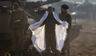 Izraelscy żołnierze gotowi na inwazję