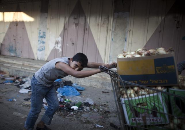 Zniszczenia w Strefie Gazy po izraelskim nalocie