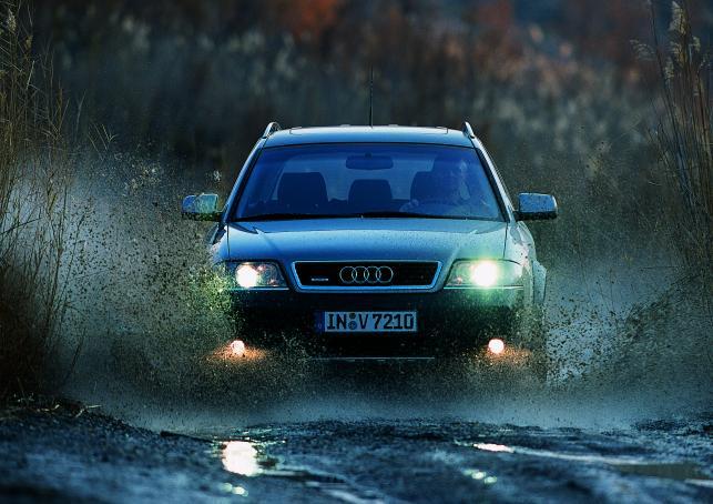 Audi A6 Allroad produkowae w latach 2000-2005