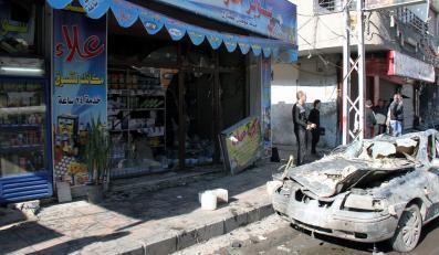 Wybuch samochodu-pułapki w Damaszku