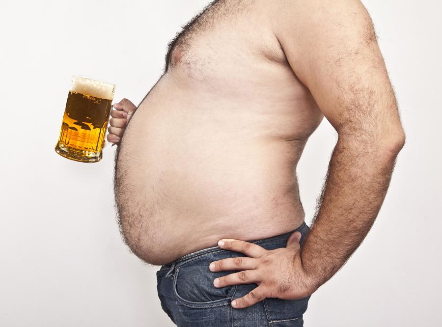 Panowie z mięśniem piwnym mają słabsze kości