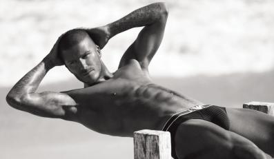 Beckham najbardziej umięśniony w Hollywood