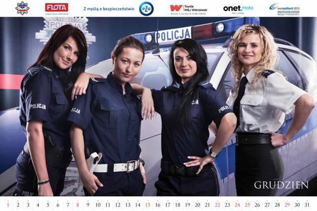 Kalendarz polskiej policji na 2013 rok