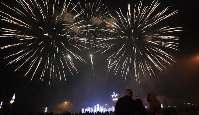 Gdynia przywitała 2013 rok