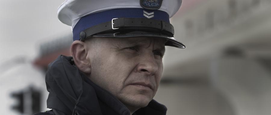 """Bartłomiej Topa w filmie """"Drogówka"""""""