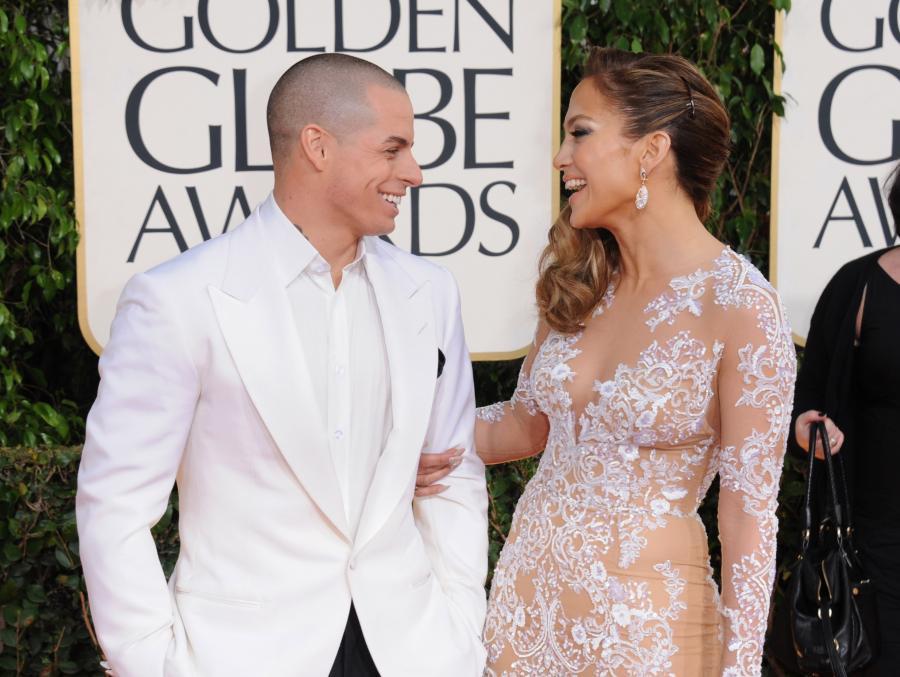 Jennifer Lopez z Casperem Smartem