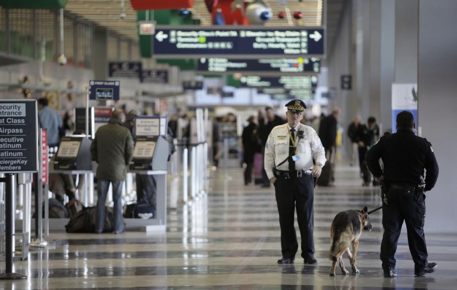 Lotnisko w Chicago