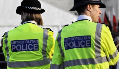 Brytyjscy policjanci