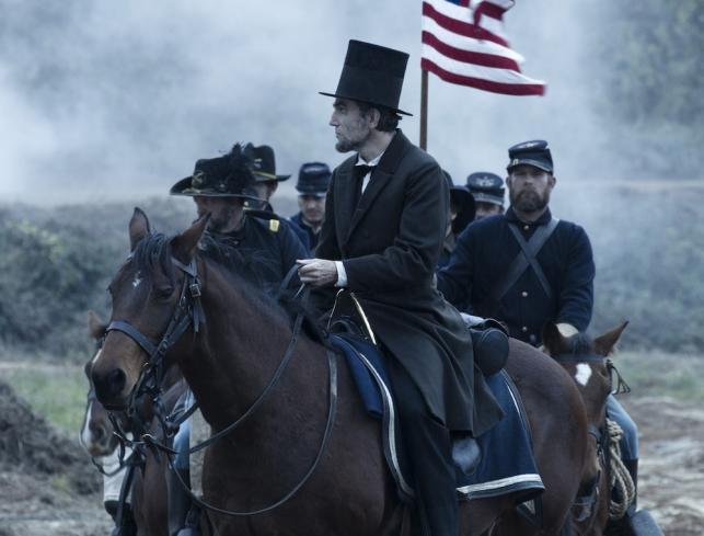 "Daniel Day-Lewis w filmie ""Lincoln"""