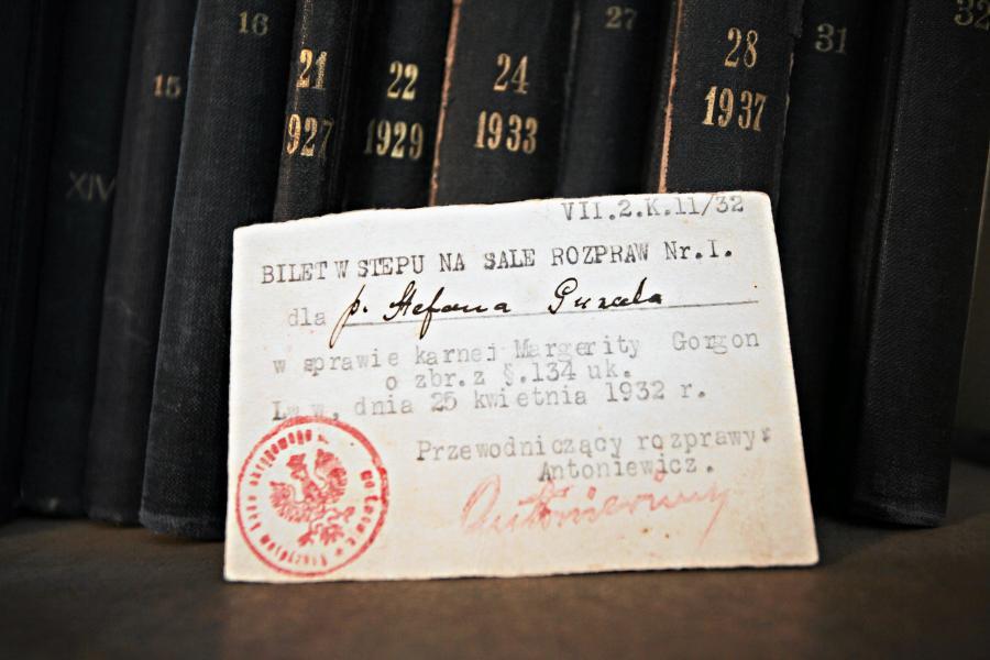 Bilet na proces Rity Gorgonowej