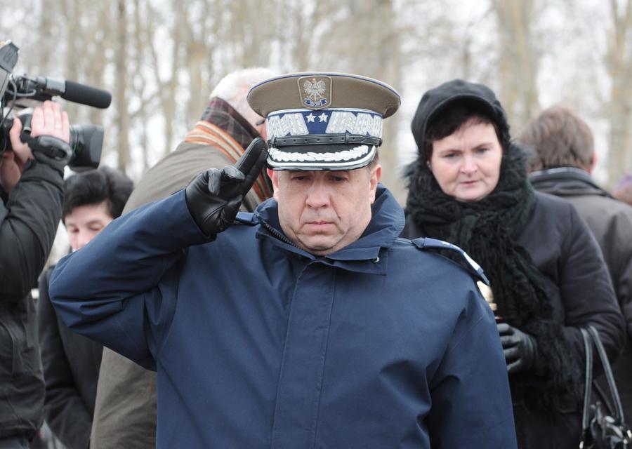Generał Marian Janicki w Smoleńsku