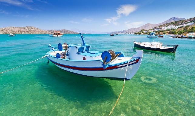 Kreta wyspa jak wulkan gorąca