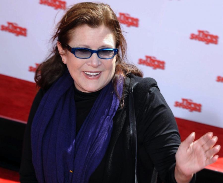 Carrie Fisher znów zagra księżniczkę Leię