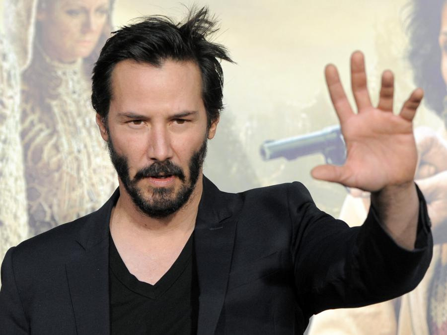 Keanu Reeves między barami w \