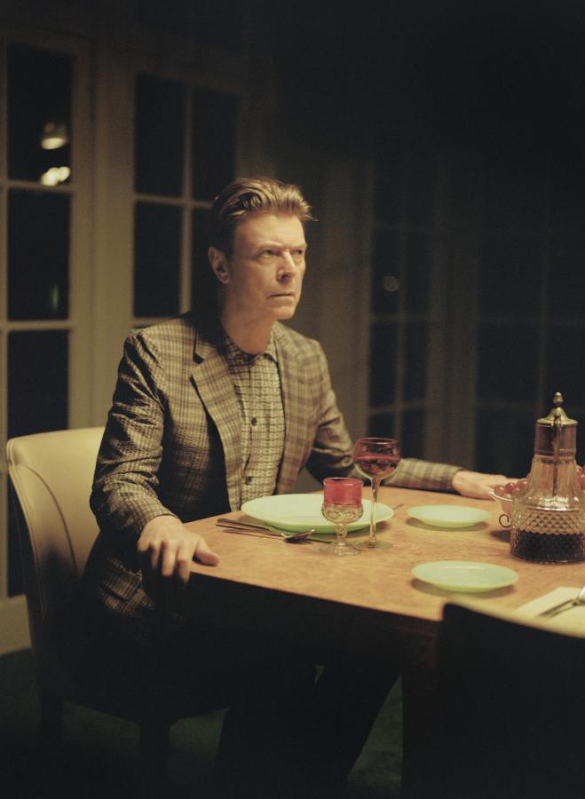 David Bowie w klipie do utworu \