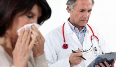 Więcej zachorowań na grypę