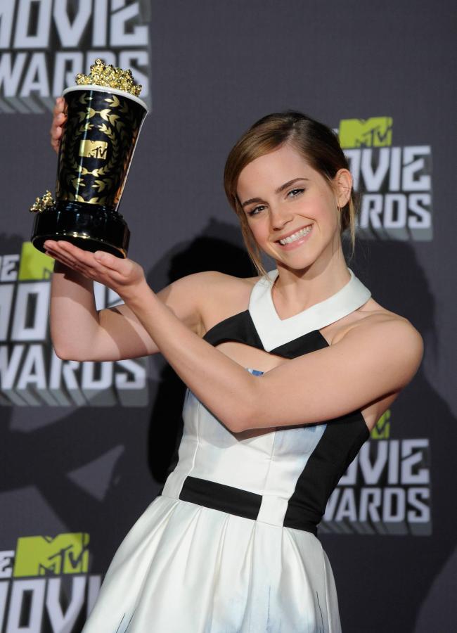 Emma Watson jako MTV Pionier