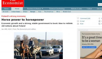 """""""Economist"""" wychwala Polskę i rządy Tuska"""