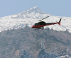 Helikopterem najłatwiej dostać się do Lukli, samolotem zdecydowanie trudniej