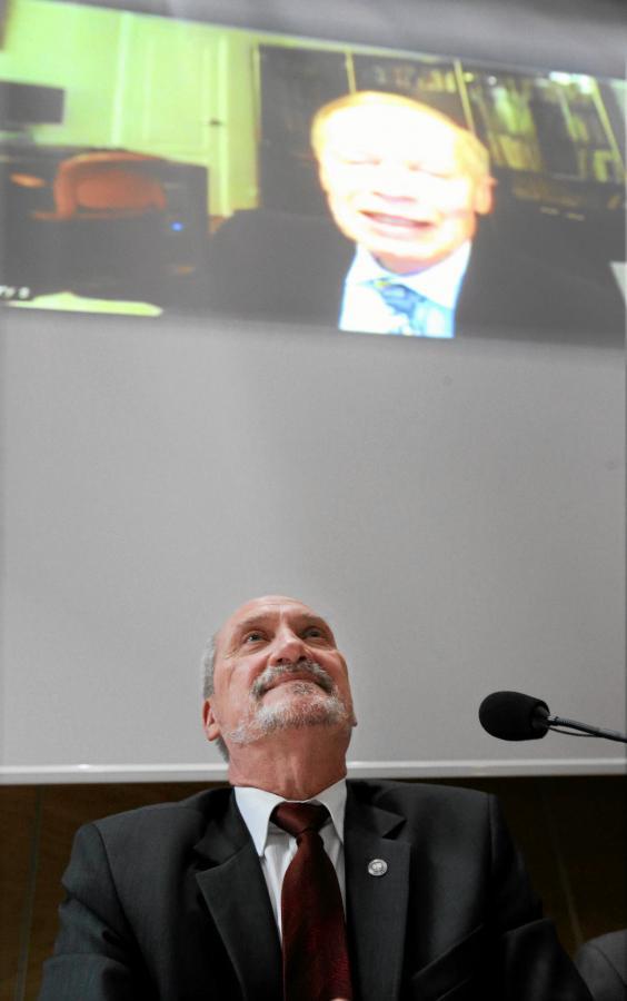 Antoni Macierewicz i dr Grzegorz Szuladziński