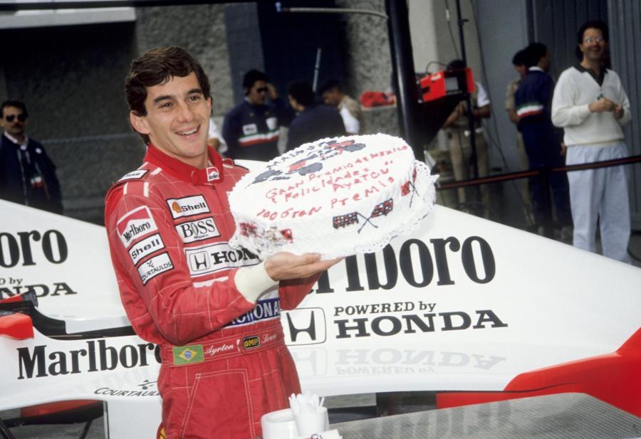 Ayrton Senna, Grand Prix Meksyku, rok 1990