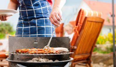 Wiosenny grill