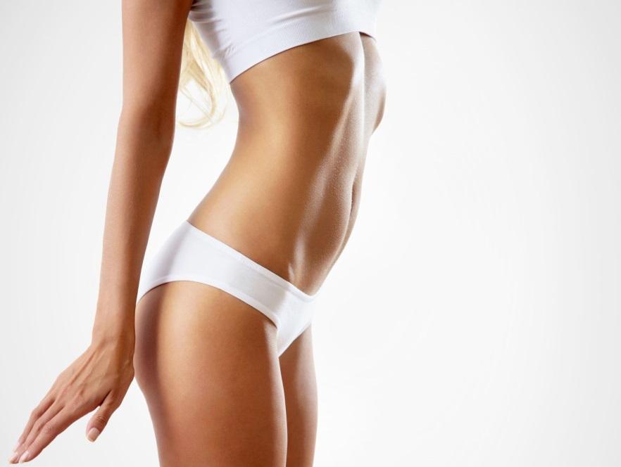 Gładkie ciało kobiety