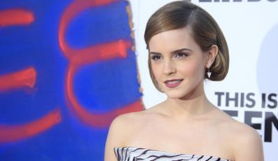 Emma Watson pewniejsza z przyjaciółmi