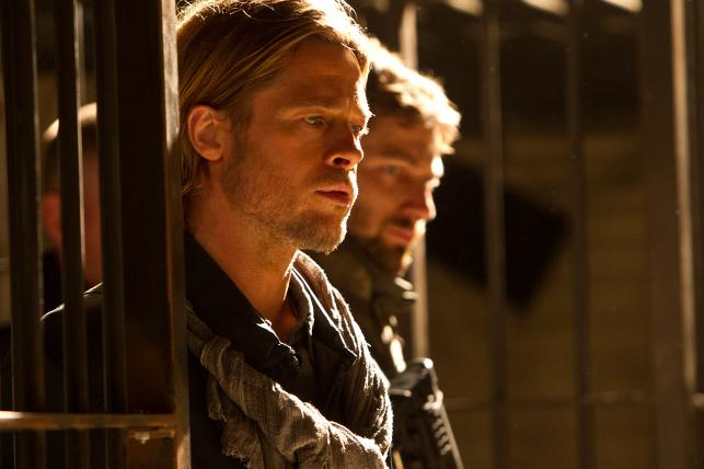 """Brad Pitt w filmie """"World War Z"""""""