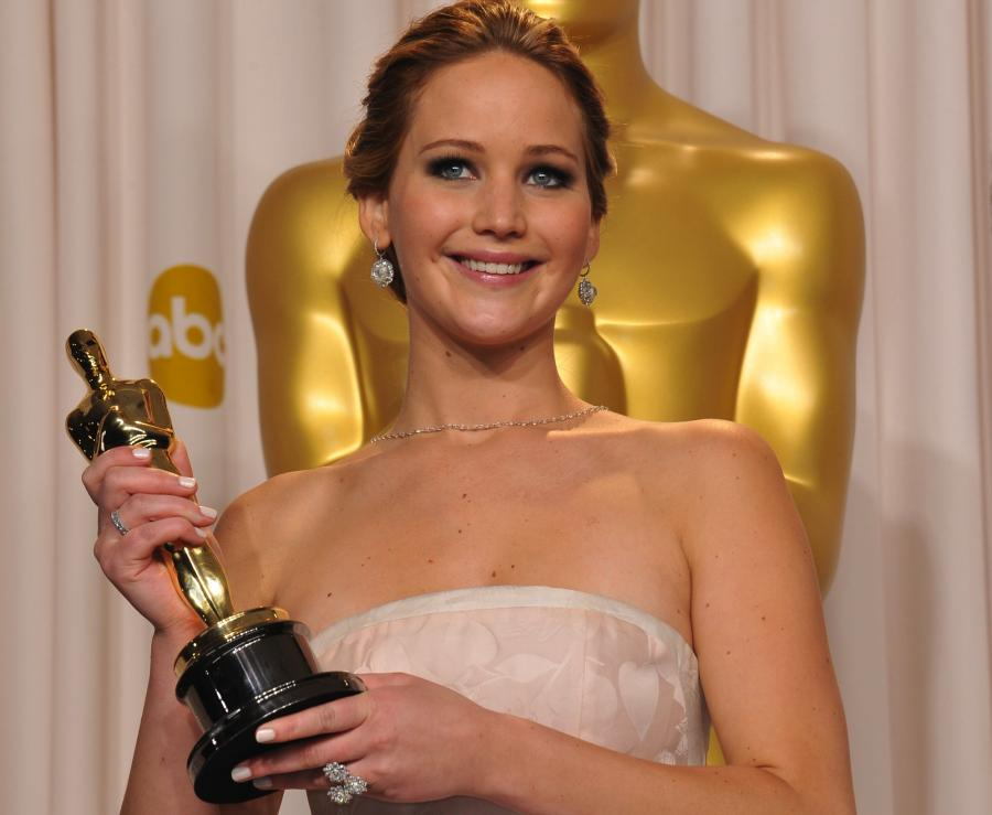 Jennifer Lawrence z Oscarem za \