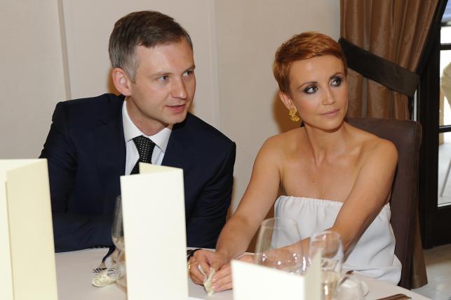 Katarzyna Zielińska i Wojciech Domański