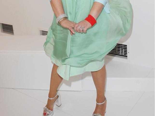 Podwiana sukienka Magdy Gessler