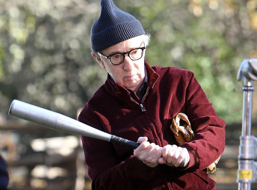 Woody Allen na planie \