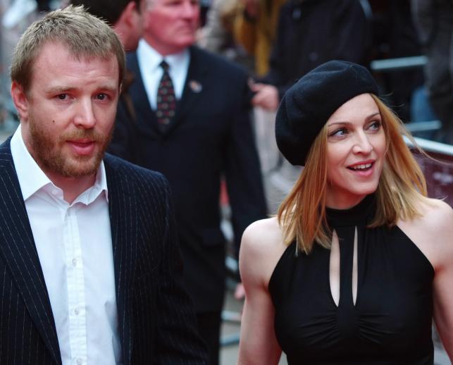 Madonna i jej mąż Guy Ritchie w 2005 roku