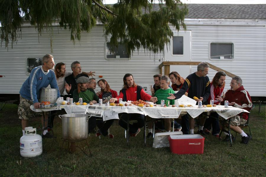 Generic Art Solutions  (Matt Vis & Tony Campbell), The Last Supper, 2006 Dzięki uprzejmości artystów i Mindy Solomon Gallery, Miami, Floryda / Courtesy of the artists and Mindy Solomon Gallery, Miami, Florida