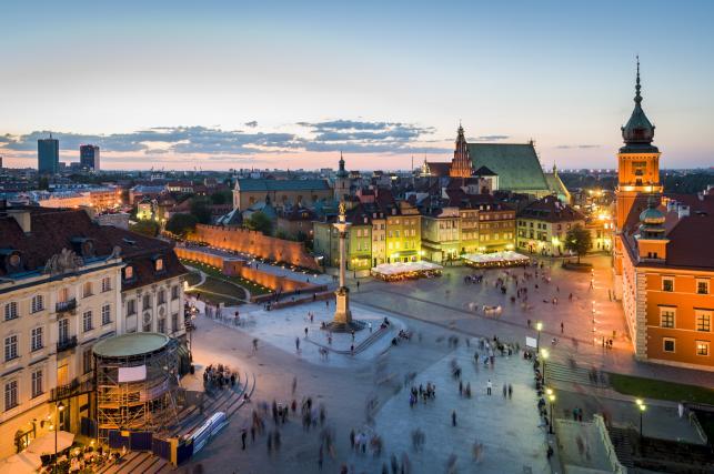 Ranking zarobków - Warszawa a reszta świata