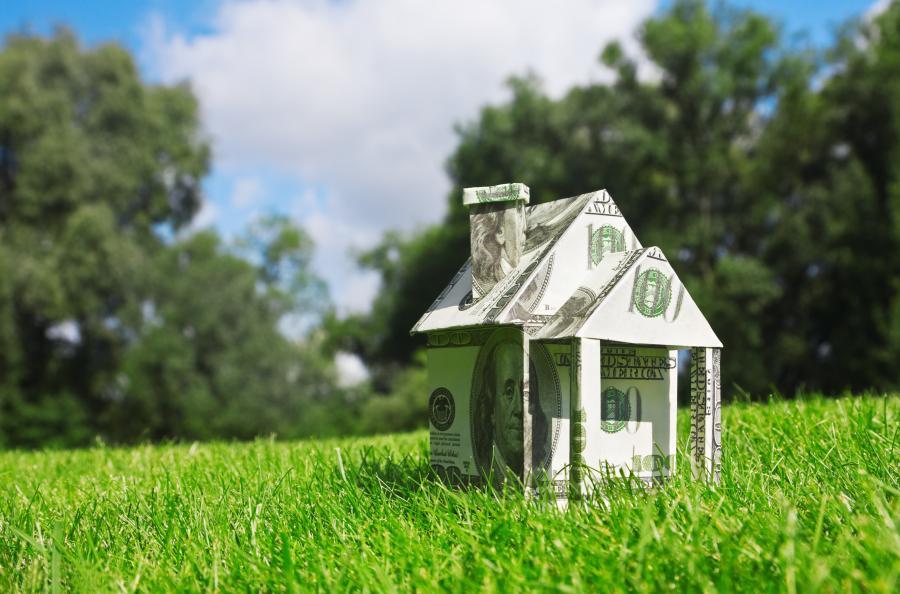 Domek z banknotów