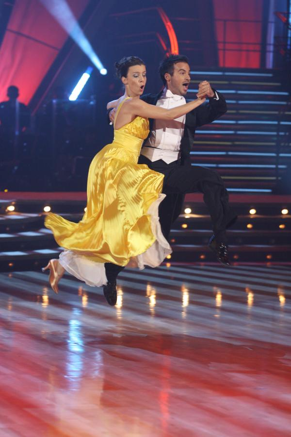 Agata Kulesza i Stefano Terrazzino w zgrabnym quickstepie