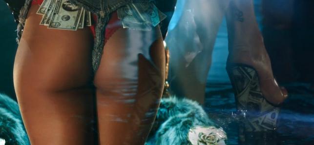 Rihanna trzęsie pupą w nowym klipie