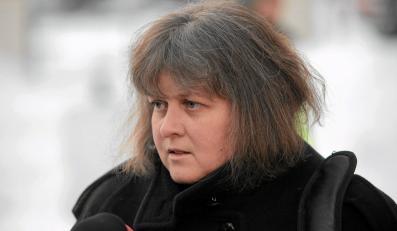 Prezes Federacji Rodzin Katyńskich Izabella Sariusz-Skąpska