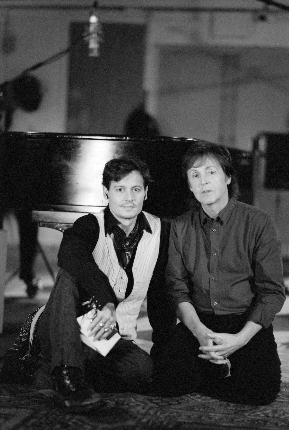 Paul McCartney współpracuje z Johnnym Deppem