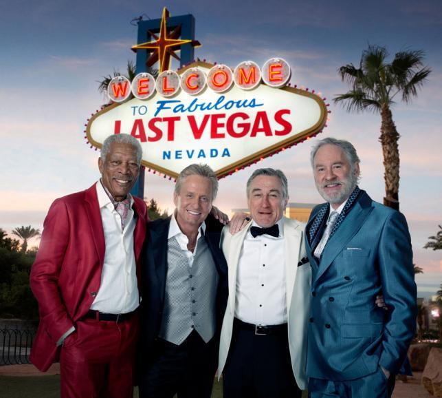 """""""Last Vegas"""" już na DVD"""