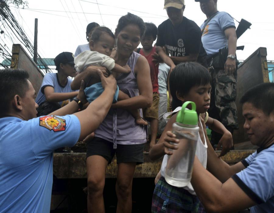 Ewakuacja na Filipinach