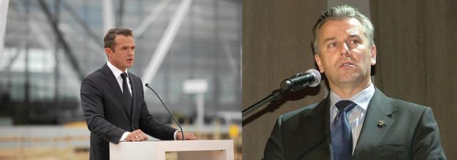 Sławomir Nowak i Cezary Grabarczyk